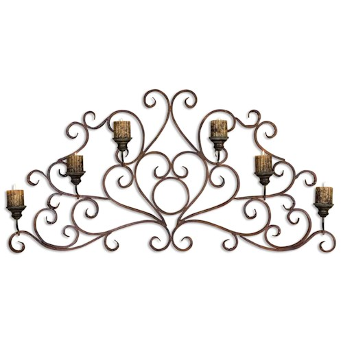 Uttermost Alternative Wall Decor Juliana Wall Sconce