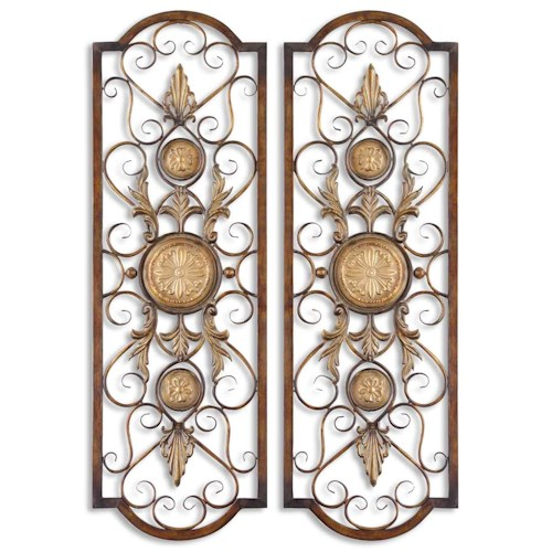 Uttermost Alternative Wall Decor Micayla Panels Set of 2