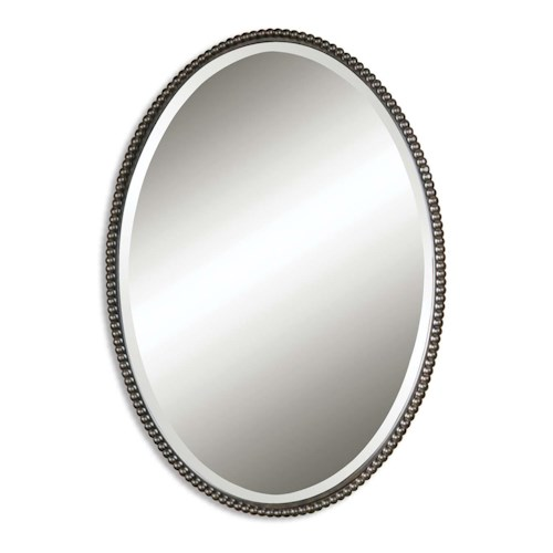 Uttermost Mirrors Sherise Bronze Oval Mirror