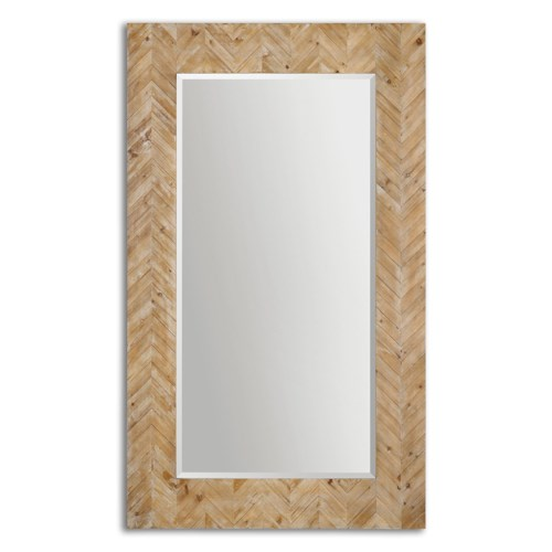 Uttermost Mirrors Demetria Oversized Wooden Mirror