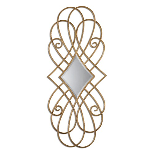 Uttermost Mirrors Lilou Gold Mirror