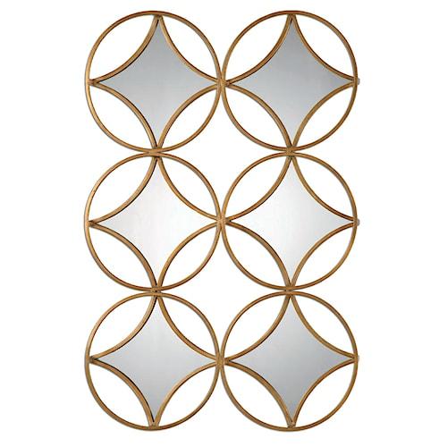Uttermost Mirrors Zamora Geometric Mirror