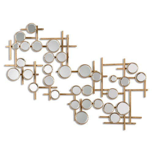 Uttermost Mirrors Britton Mirrored Wall Art