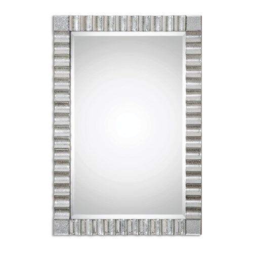 Uttermost Mirrors Amisos Scalloped Wall Mirror