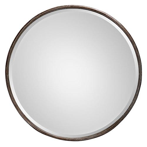 Uttermost Mirrors Nova Round Metal Mirror