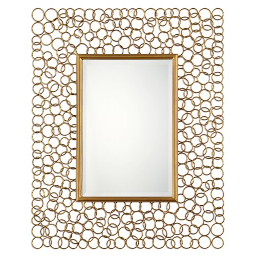 Uttermost Mirrors Amyus Gold Mirror