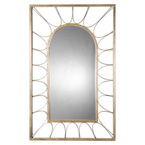 Uttermost Mirrors Calvados Gold Arch Mirror