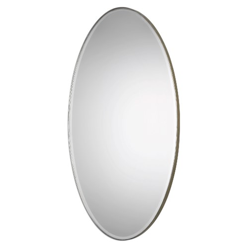 Uttermost Mirrors Petra Oval Mirror