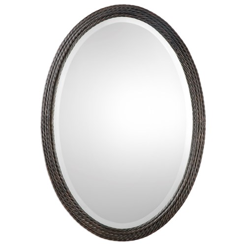 Uttermost Mirrors Sabana Oval Mirror