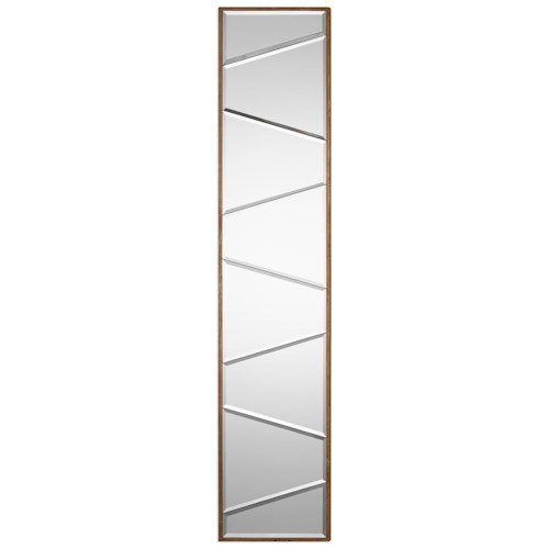 Uttermost Mirrors  Zodia Narrow Beveled Mirror