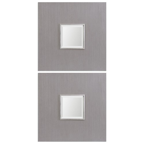 Uttermost Mirrors Scotten Squares (Set of 2)
