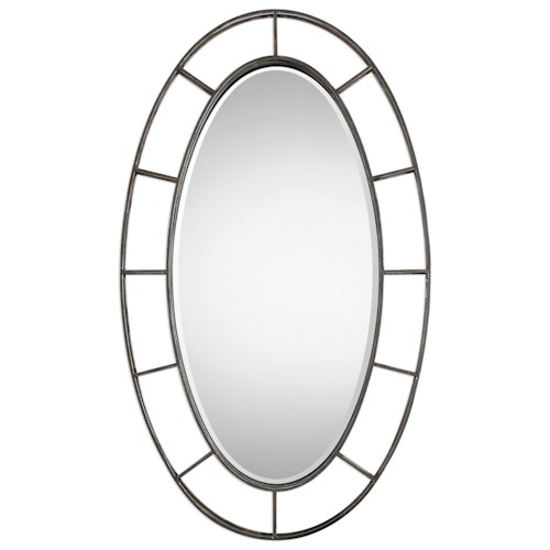 Uttermost Mirrors  Gilliam Oval Mirror