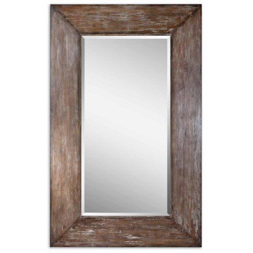 Uttermost Mirrors Contemporary Landford Large Mirror