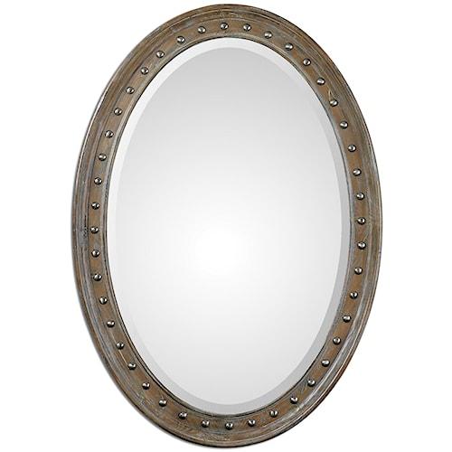 Uttermost Mirrors Sylvana Oval Mirror