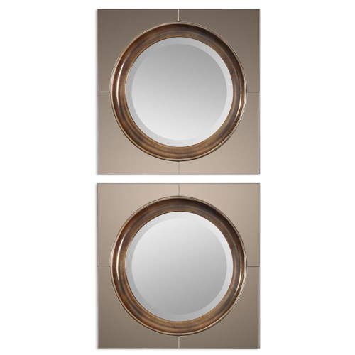 Uttermost Mirrors Gouveia Comtemporary Mirror