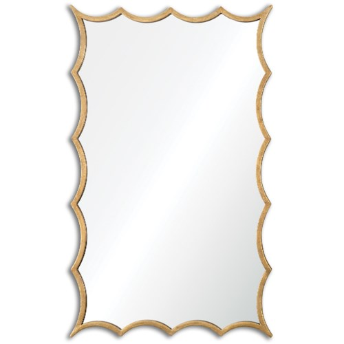 Uttermost Mirrors Dareios Gold Mirror
