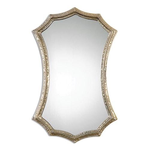 Uttermost Mirrors Mesdoura Silver Champagne Mirror
