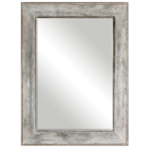 Uttermost Mirrors Morava Rust Aged Gray Mirror