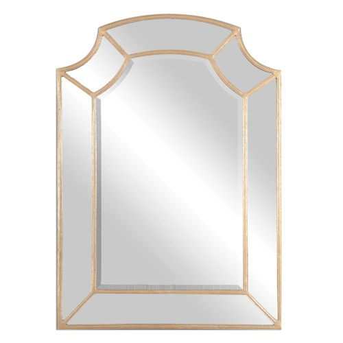Uttermost Mirrors Francoli Gold Arch Mirror