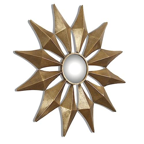 Uttermost Mirrors Navia Gold Starburst Mirror