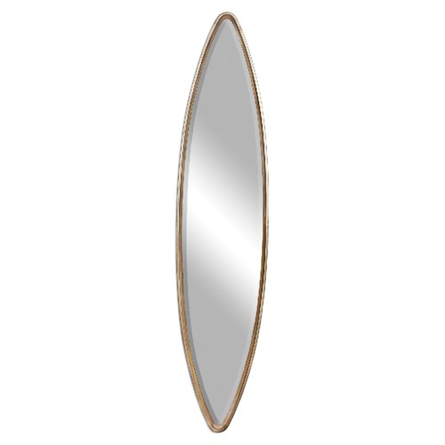 Uttermost Mirrors Belsito Oxidized Gold Oval Mirror