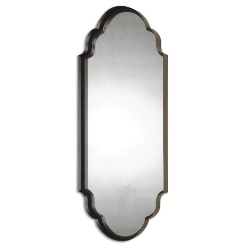 Uttermost Mirrors Lamia Curved Metal Mirror