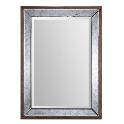 Uttermost Mirrors Daria Antique Framed Mirror