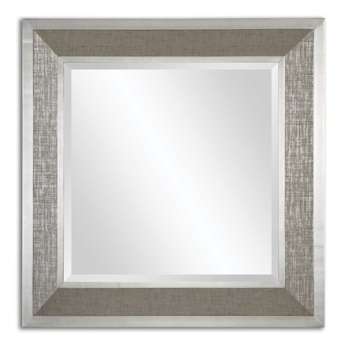 Uttermost Mirrors Naevius Metallic Square