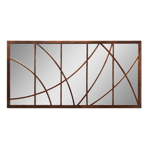 Uttermost Mirrors Contemporary Loudon Mirror