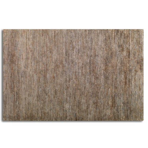 Uttermost Rugs Mounia 6 X 9 Rug - Rust Blue