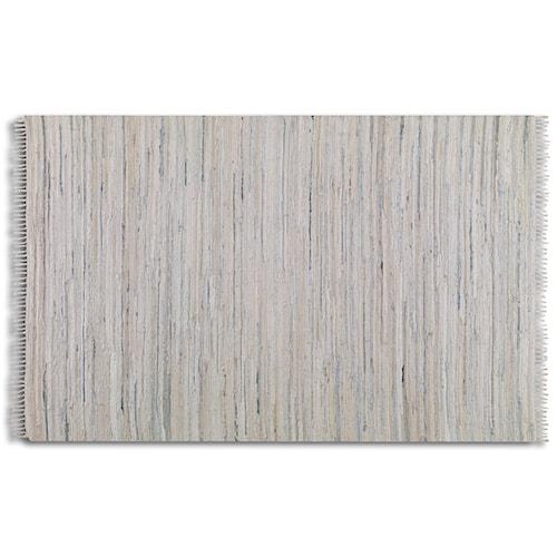 Uttermost Rugs Stockton 5 X 8 Rug - White