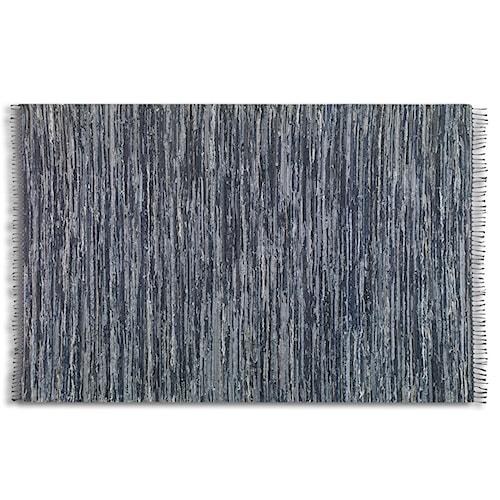 Uttermost Rugs Stockton 5 X 8 Rug - Black