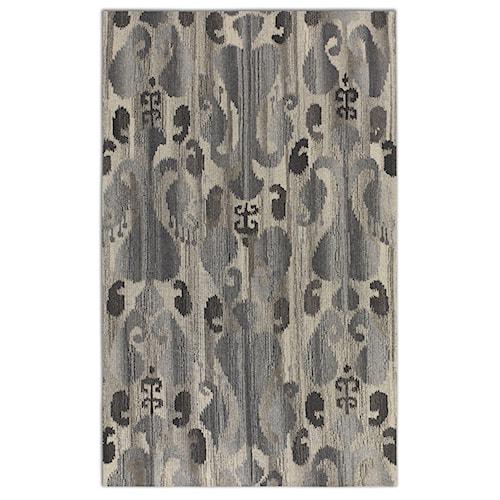 Uttermost Rugs Sepino 5 X 8 Rug - Gray