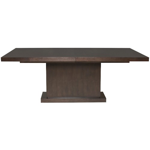 Vanguard Furniture Bradford  Casual Single Pedestal Dining Table