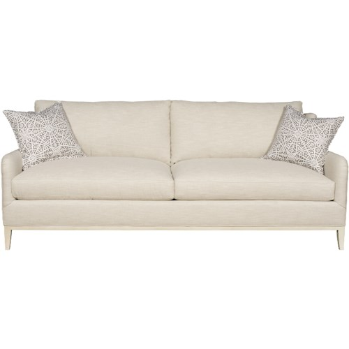 Vanguard Furniture Fisher Contemporary Sofa with Track Arms