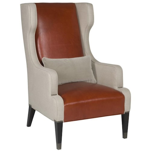 Vanguard Furniture Thom Filicia Home Collection Contemporary James Street Wing Chair