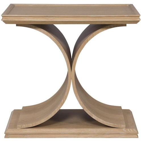 Vanguard Furniture Thom Filicia Home Collection Strathmore Transitional Rectangular End Table