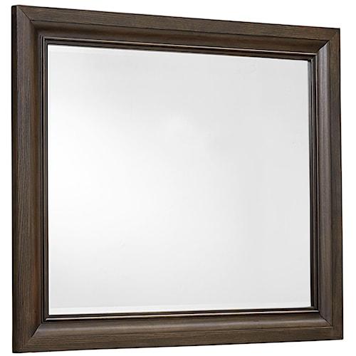 Vaughan Bassett Affinity Landscape Mirror - Beveled glass