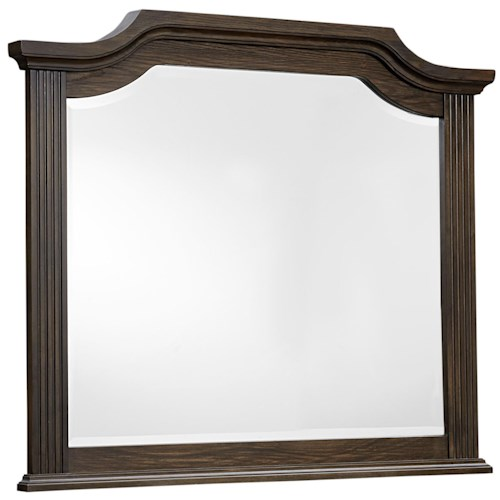Vaughan Bassett Affinity Arch Mirror - Beveled glass