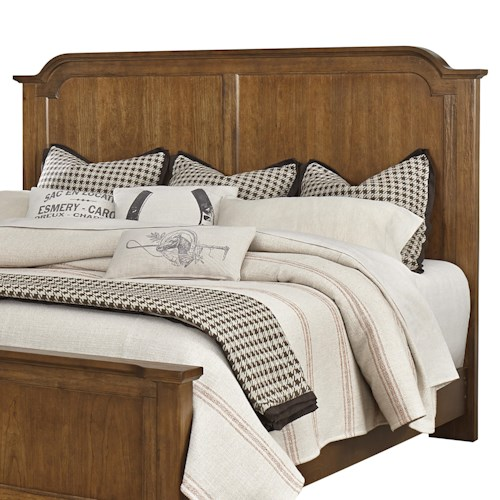 Vaughan Bassett Arrendelle Transitional Queen Mansion Headboard
