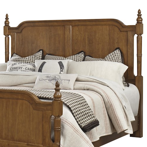 Vaughan Bassett Arrendelle Transitional King Poster Headboard