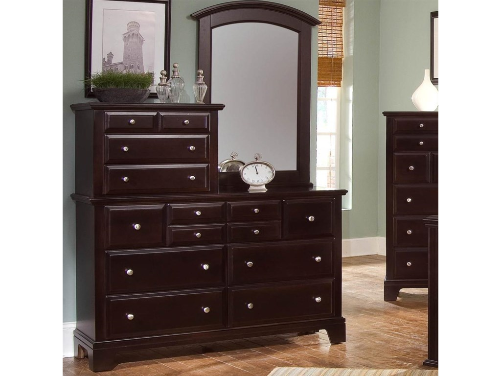 Vanity Dresser Shown with Mirror