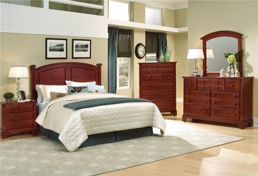 Shown with headboard bed