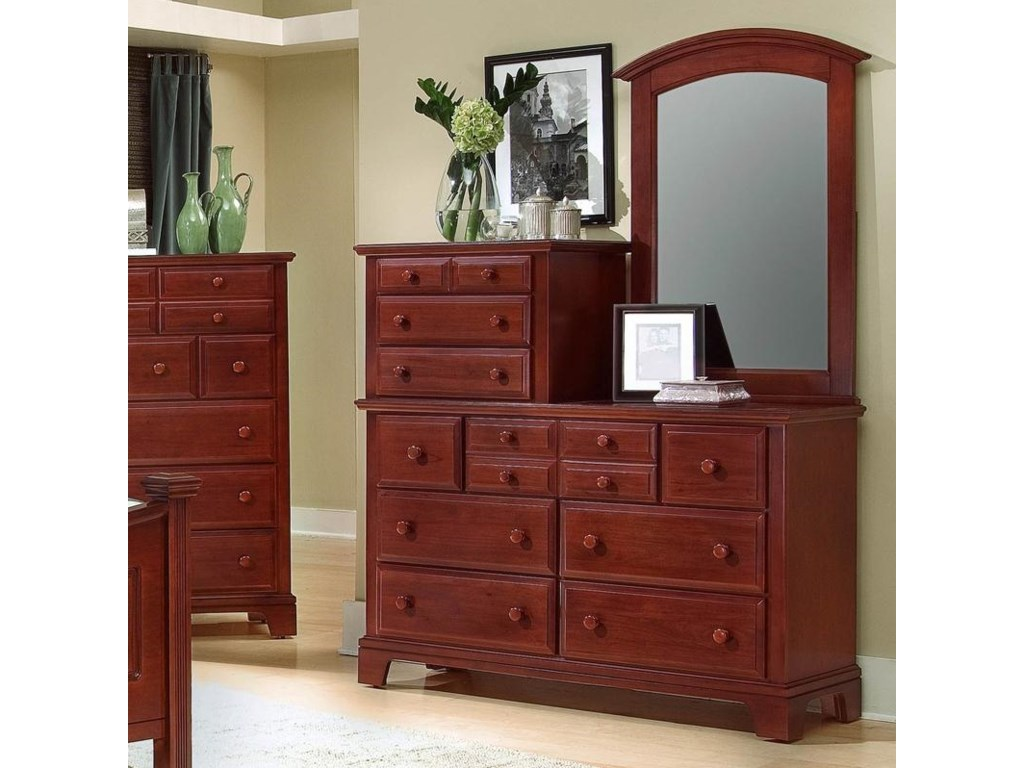 Shown with vanity dresser
