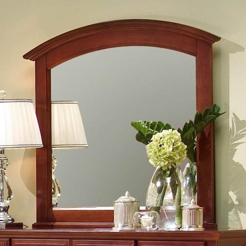 Vaughan Bassett Hamilton Franklin Rectangular Mirror