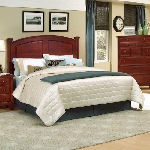 Vaughan Bassett Hamilton/Franklin Full/Queen Panel Headboard