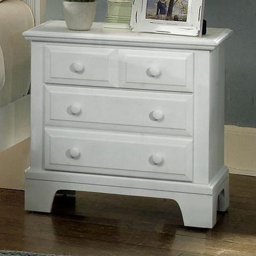 Vaughan Bassett Hamilton Franklin Night Stand with 2 Drawers