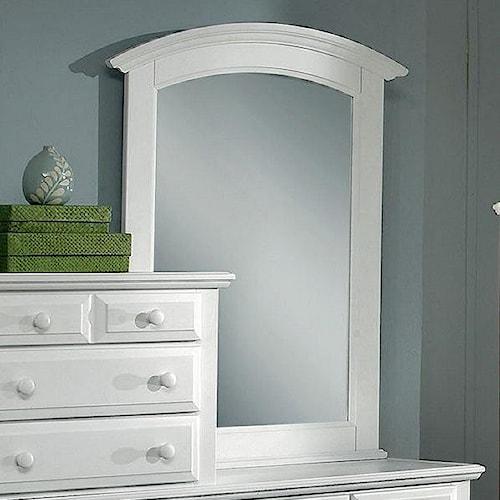 Vaughan Bassett Hamilton Franklin Vertical Vanity Mirror