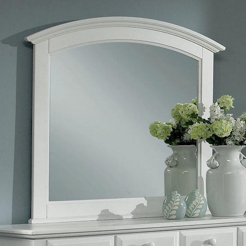 Vaughan Bassett Hamilton/Franklin Rectangular Mirror