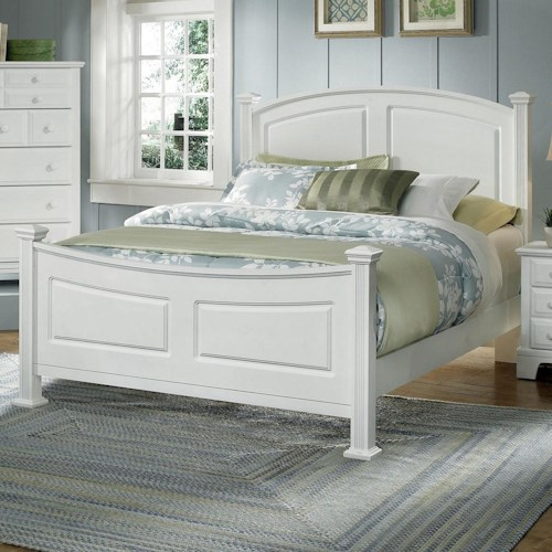 Vaughan Bassett Hamilton Franklin Full Panel Bed